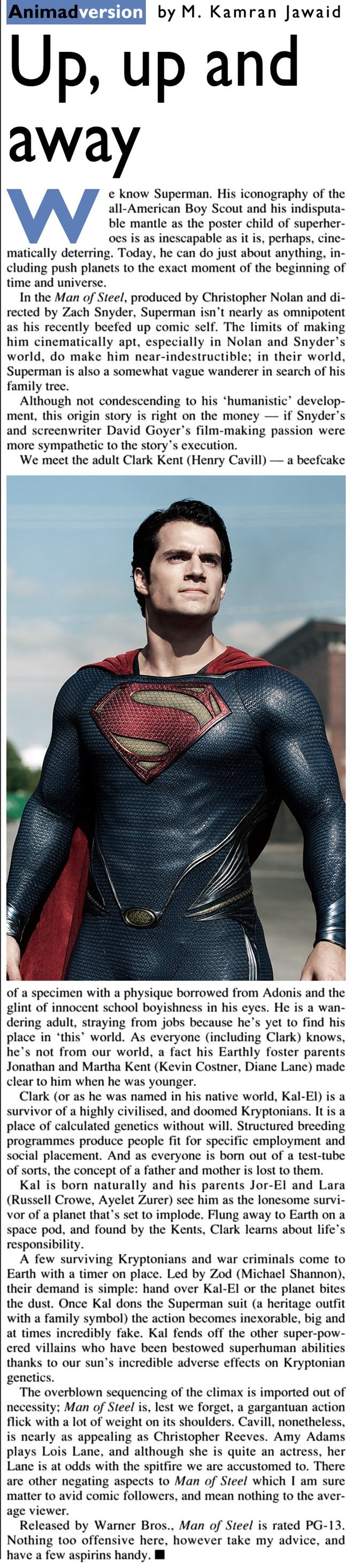June 30 2013 - Man of Steel (Reset)