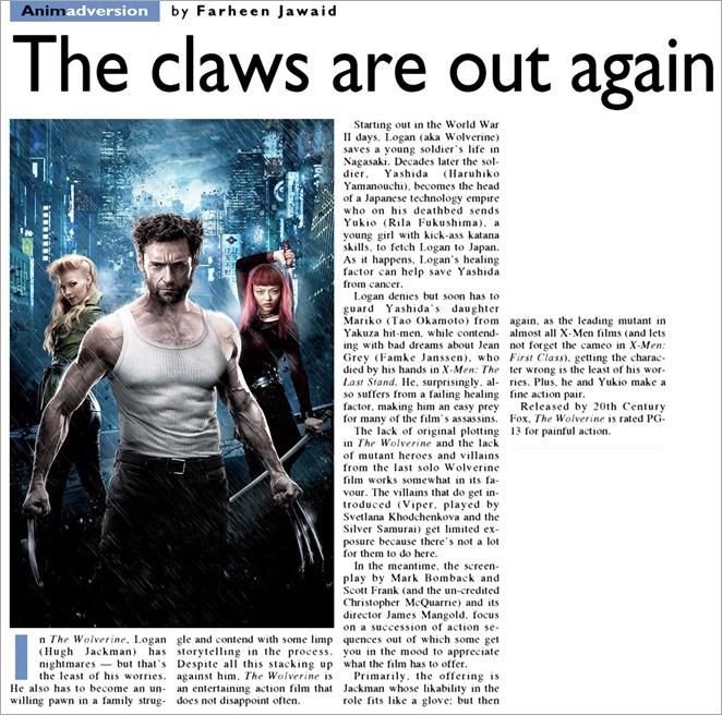 August 04 2013 - Wolverine