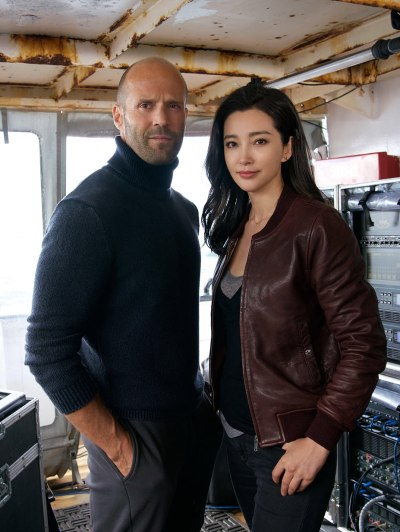 MEG - Jason Stratham and Li Bingbing